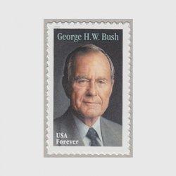 アメリカ 2019年ジョージ・H・W・ブッシュ
