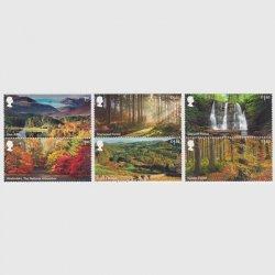 イギリス 2019年森林保護6種