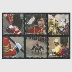 イギリス 2005年軍旗敬礼分列式6種