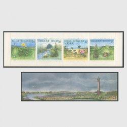 ベルギー 1994年野生の花切手帳