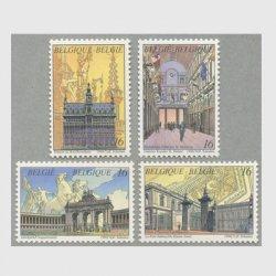 ベルギー 1996年ブリュッセルの建造物4種
