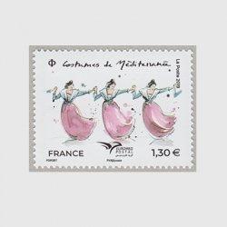 フランス 2019年地中海郵便連合