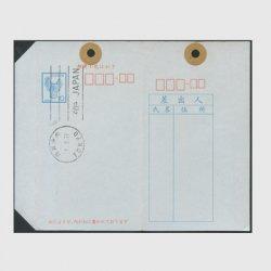 小包はがき 1972年10円土器・「東京中央」初日印