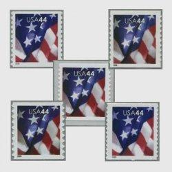 アメリカ 2009年普通切手・星条旗コイル