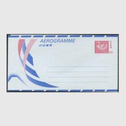 航空書簡 1987年孔雀紋110円