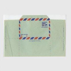 沖縄航空書簡 1958年13セント改訂加刷 折り目なし※シワ