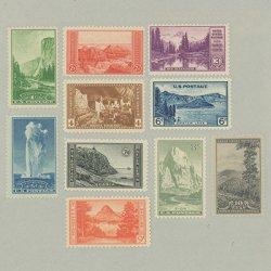 アメリカ 1934年国立公園