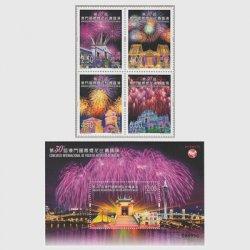 中国マカオ 2019年第30回マカオ国際花火コンテスト