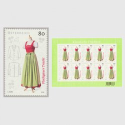 オーストリア 2019年フラッハガウの民族衣装