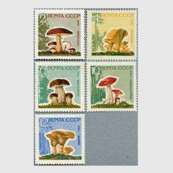 ロシア 1964年キノコ5種