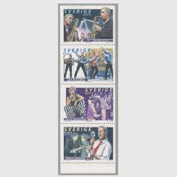 スウェーデン 1999年バンド4種連刷