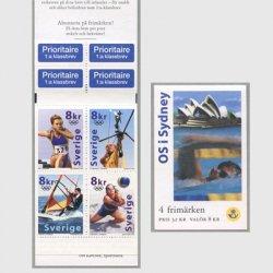 スウェーデン 2000年シドニーオリンピック切手帳