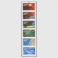 スウェーデン 2000年空模様切手帳