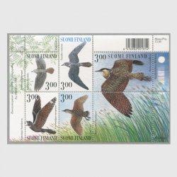 フィンランド 1999年鳥 小型シート