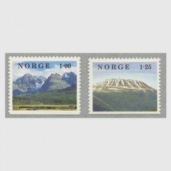 ノルウェー 1978年Gaustatoppen山など2種