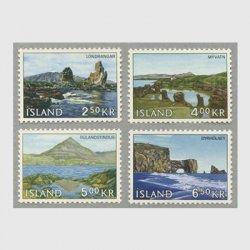アイスランド 1966年西部の風景4種