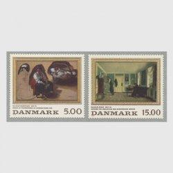 デンマーク 1994年絵画2種