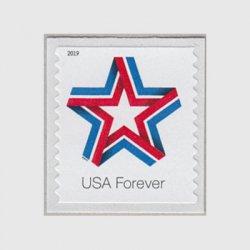アメリカ 2019年普通切手スターリボン・コイル
