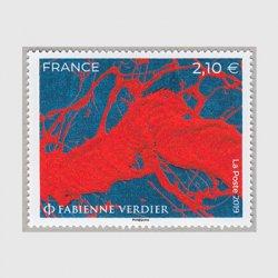 フランス 2019年美術切手ファビエンヌ・ヴェルディエ