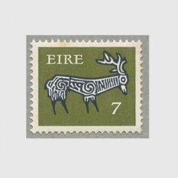 アイルランド 1974年古代土器の牡鹿の文様7p