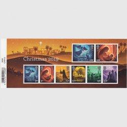 イギリス 2019年クリスマス・ミニチュアシート