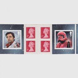 イギリス 2019年スターウォーズ・切手帳