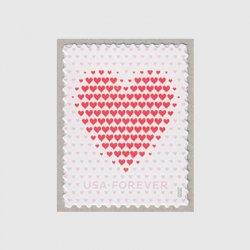 アメリカ 2020年ラブ切手