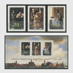 オランダ 1996年フェルメールの絵画