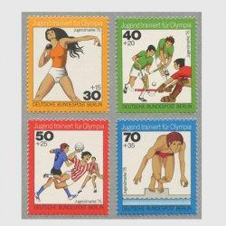 ベルリン 1976年スポーツ 4種