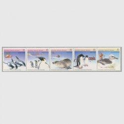 豪州南極地方 1983年環境保護5種連刷