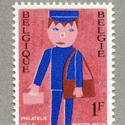 ベルギー 1969年郵便配達員
