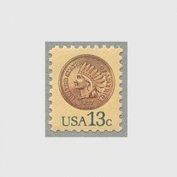 アメリカ 1978年インディアンの顔のコイン