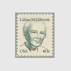 アメリカ 1984年心理学者リリアン・ギルブレス
