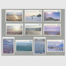 豪州南極地方 1984-87年南極の風景10種