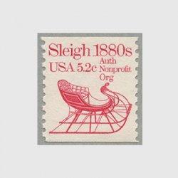 アメリカ 1983年輸送機関 額面「c」付き「ソリ」