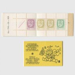 フィンランド 1978年普通切手切手帳 ※少難品