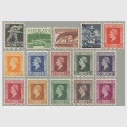 オランダ 1944-46年軍隊とウィルへルミナ女王15種