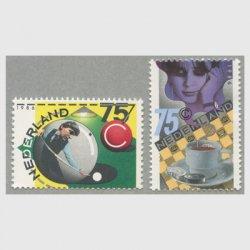 オランダ 1986年ビリヤード・チェッカー組合75年2種