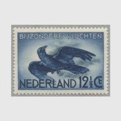 オランダ 1938年航空切手カラス
