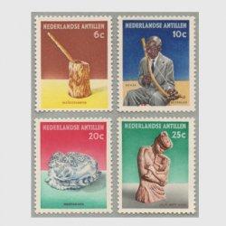 オランダ領アンチル諸島 1962年工芸品4種