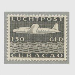 オランダ領アンチル諸島 1947年航空切手 DC-4