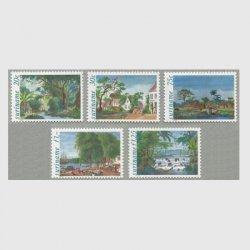 スリナム 1980年P.I.Bonoitの絵画5種