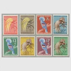 オランダ領ニューギニア 1954-59年鳥8種