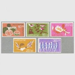 スリナム 1974年児童福祉5種