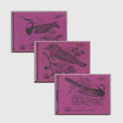 イギリス 糸とじ切手帳「野鳥シリーズ」