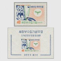 韓国 1960年新政府樹立