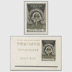 韓国 1961年顕忠日