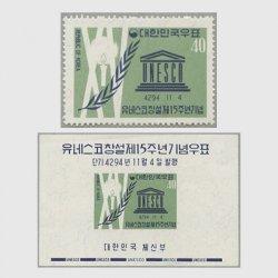 韓国 1961年ユネスコ15年