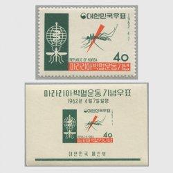 韓国 1962年マラリア撲滅運動
