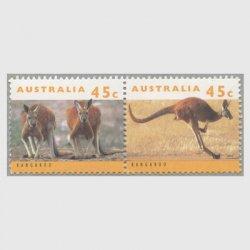 オーストラリア 1994年カンガルー2種連刷